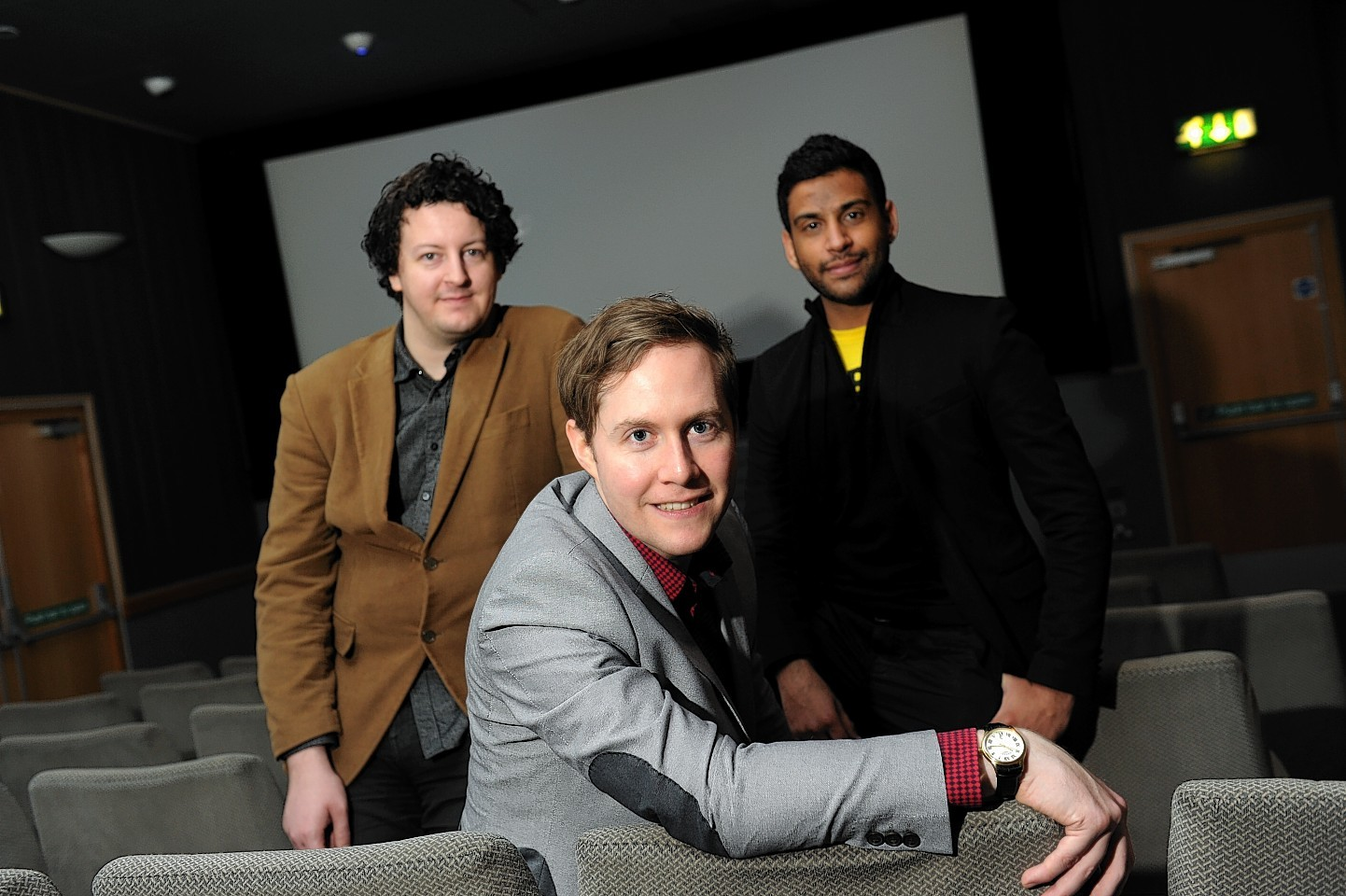 The men behind Candlestick showing at the Aberdeen Film Festival