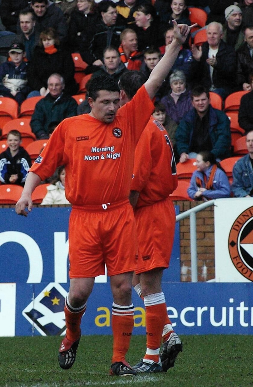 Charlie Miller in his Dundee United days