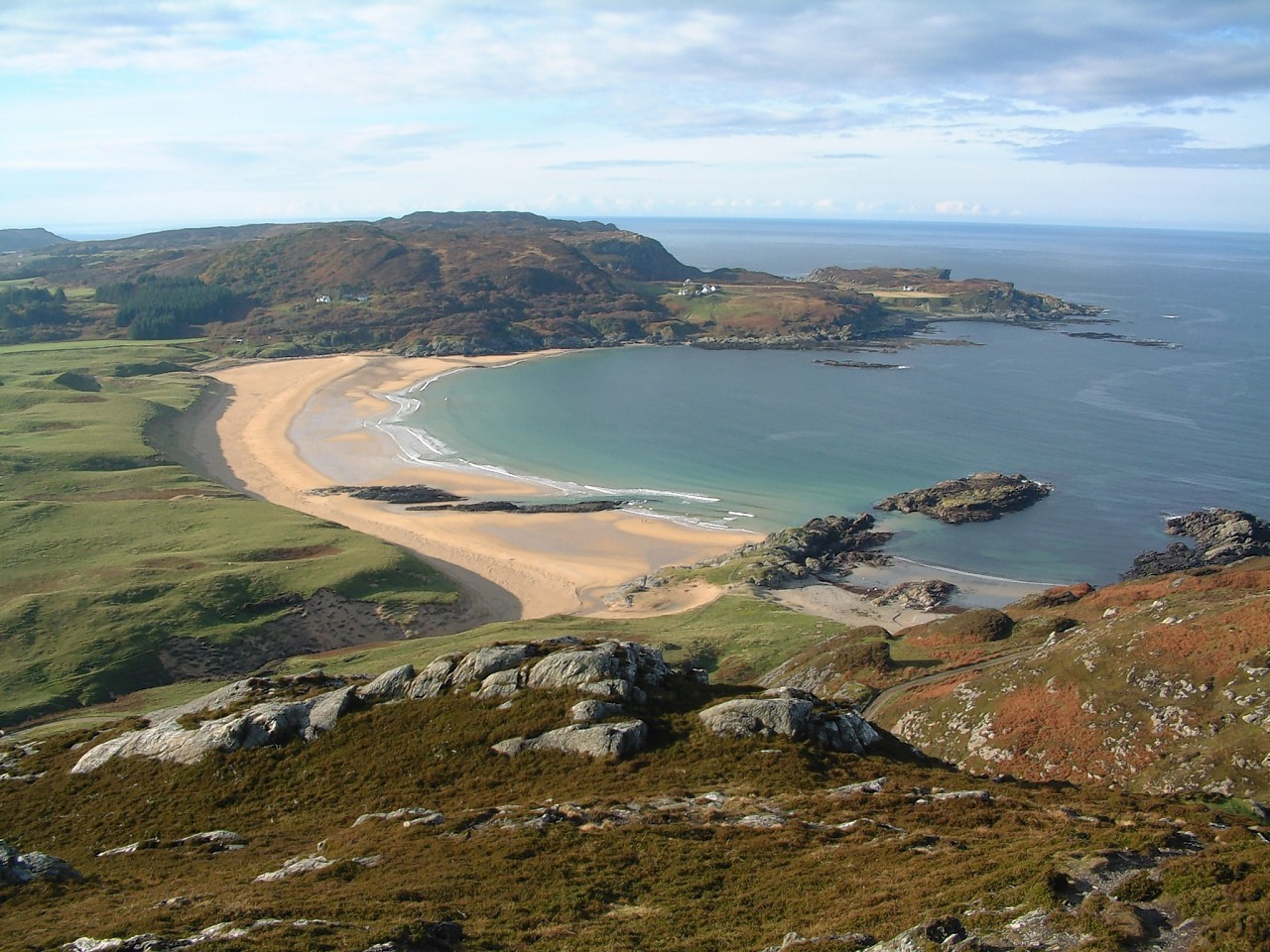 Colonsay scenic view by Dave Beaumont