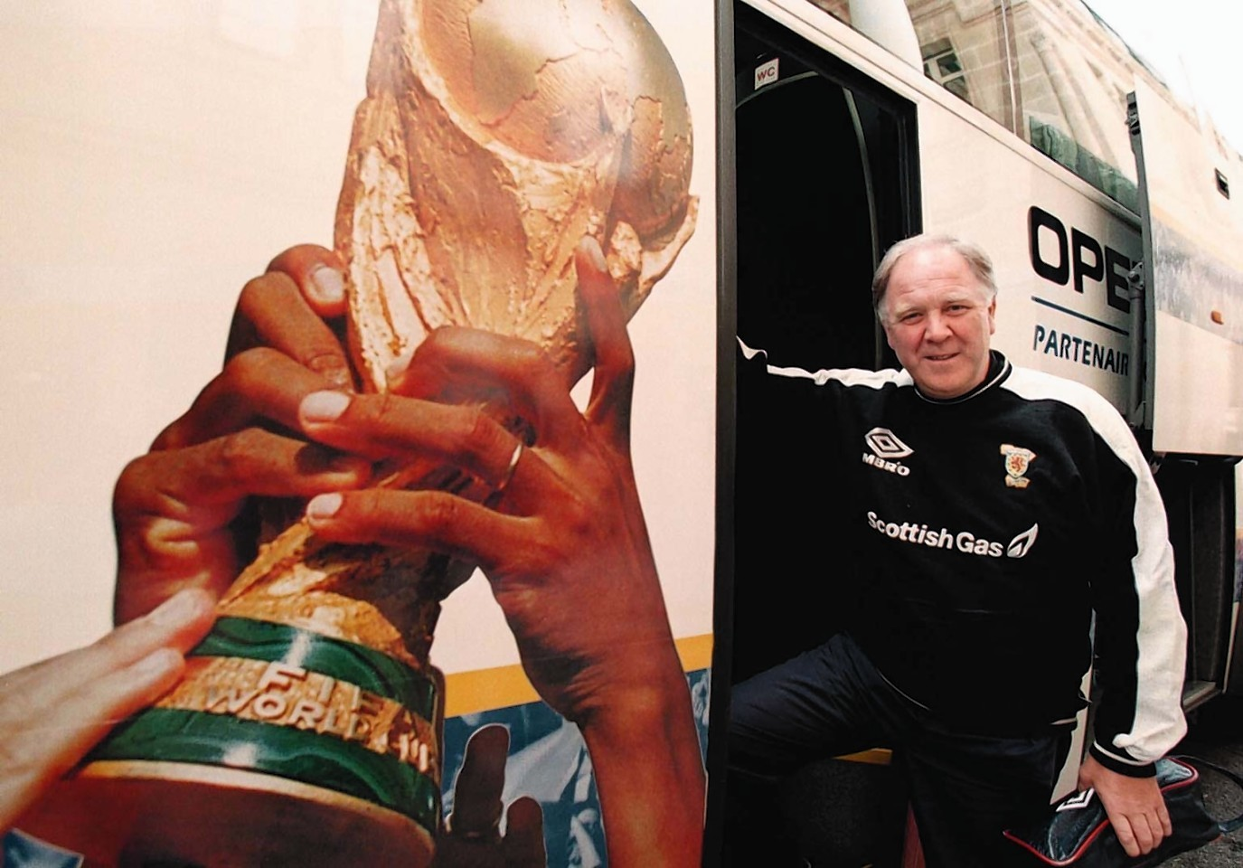 Brown was the last man to guide Scotland to a major tournament when he took the national team to the France 98 World Cup