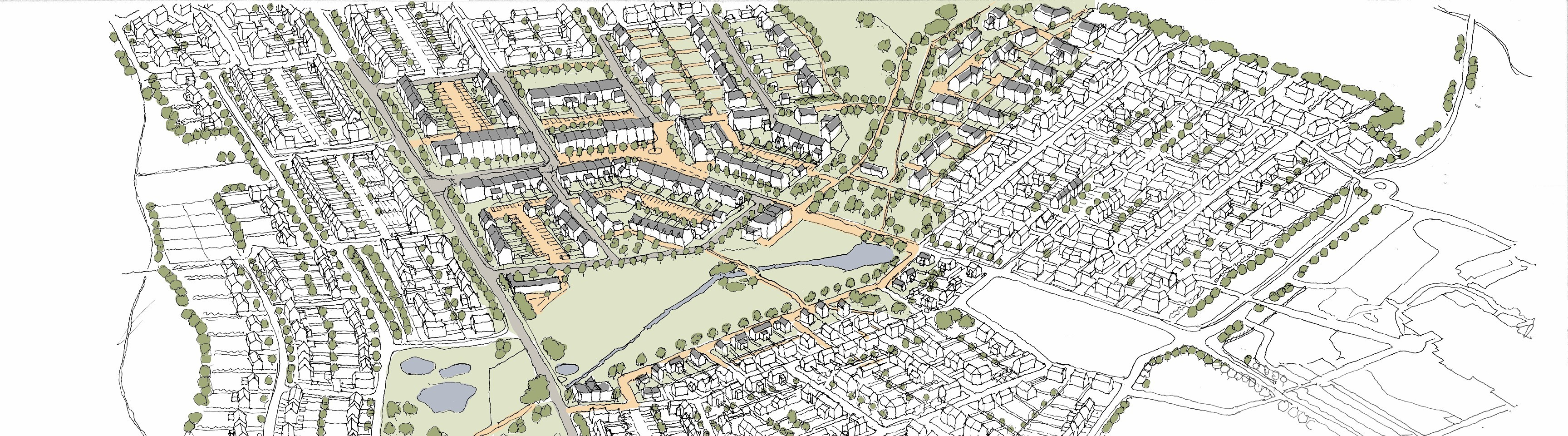 """Scotia Homes' masterplan for a """"neighbourhood expansion"""" of Ellon at Cromleybank"""