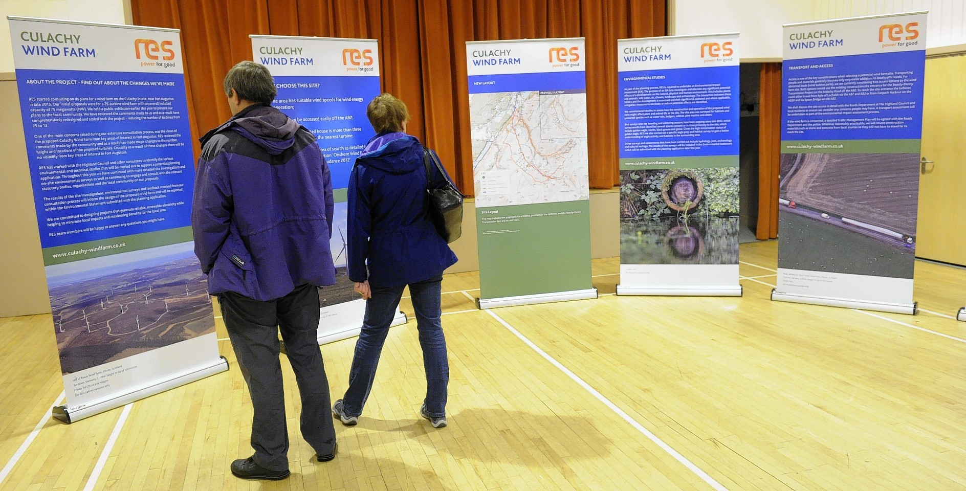 Public exhibitions of the plans