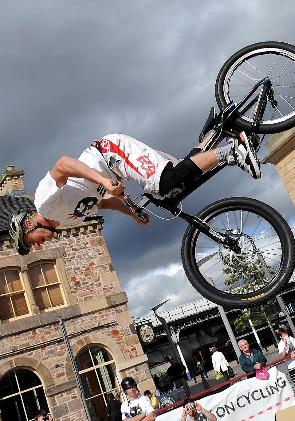 Danny MacAskill in action
