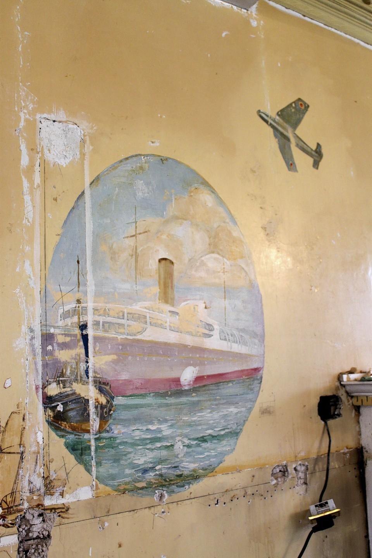 Dowan Hotel wall paintings