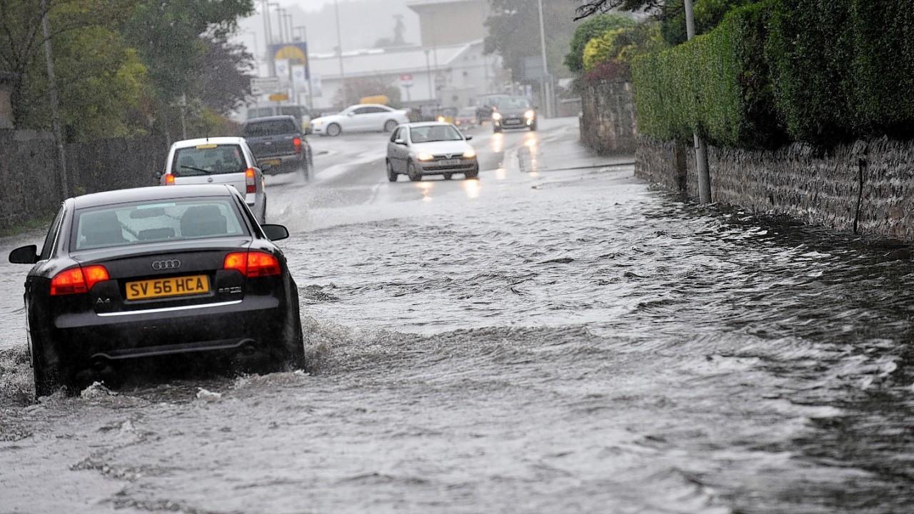 Elgin flooding on Maisondieu Road