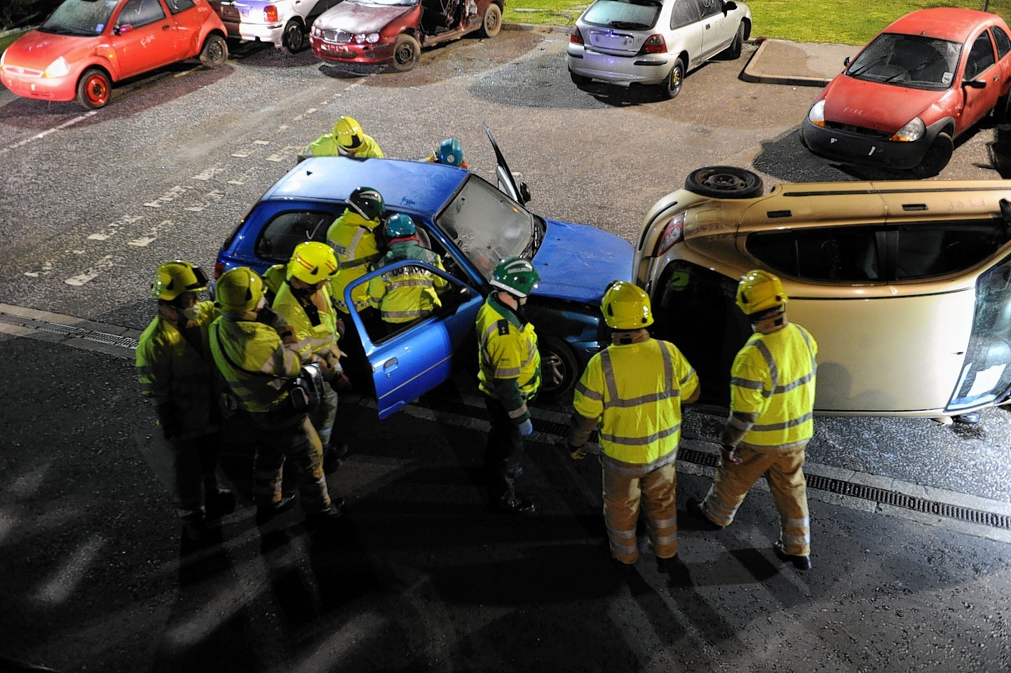 Emergency exercise in Moray