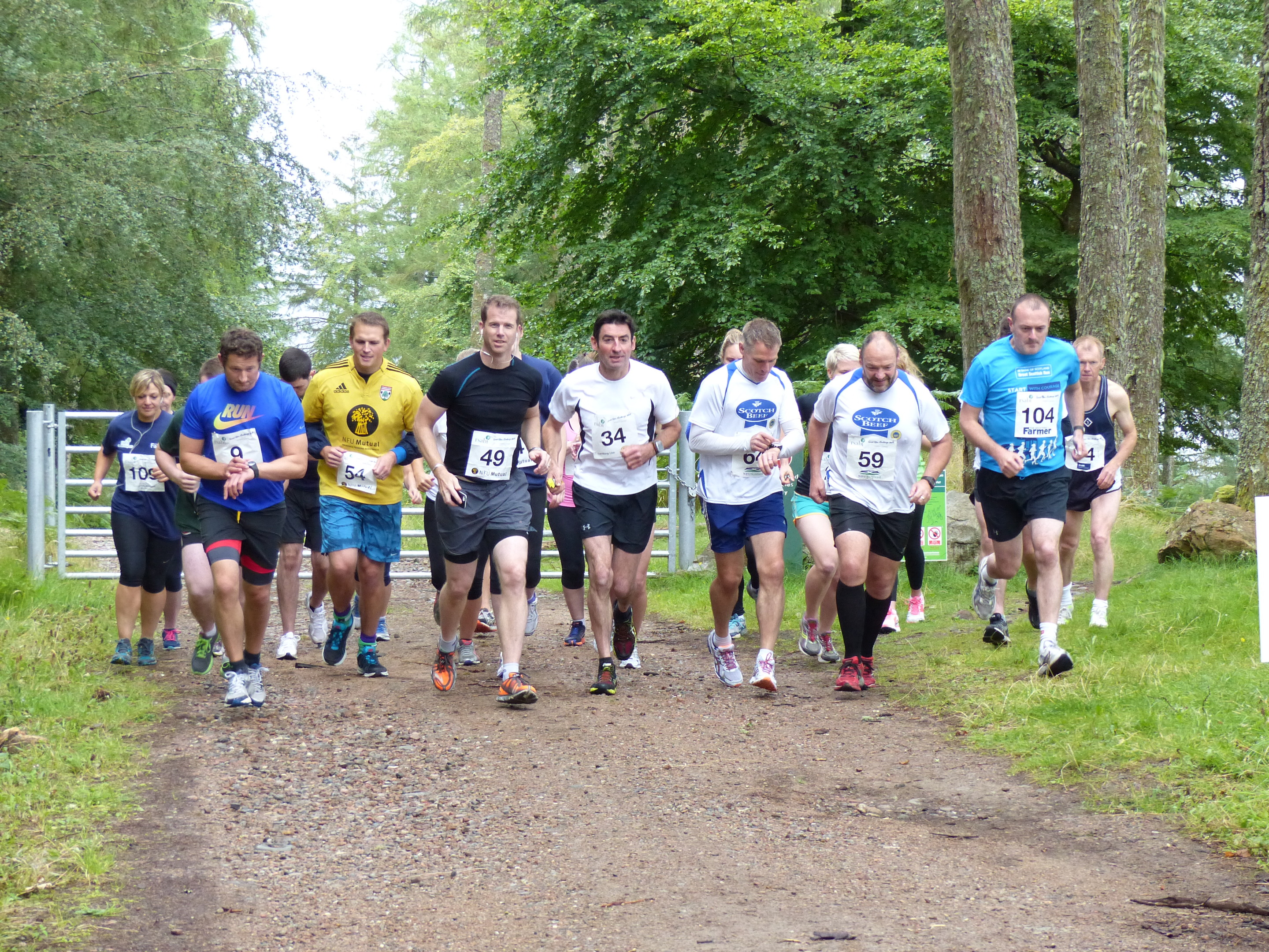 Competitors at this year's RSABI Great Glen Challenge