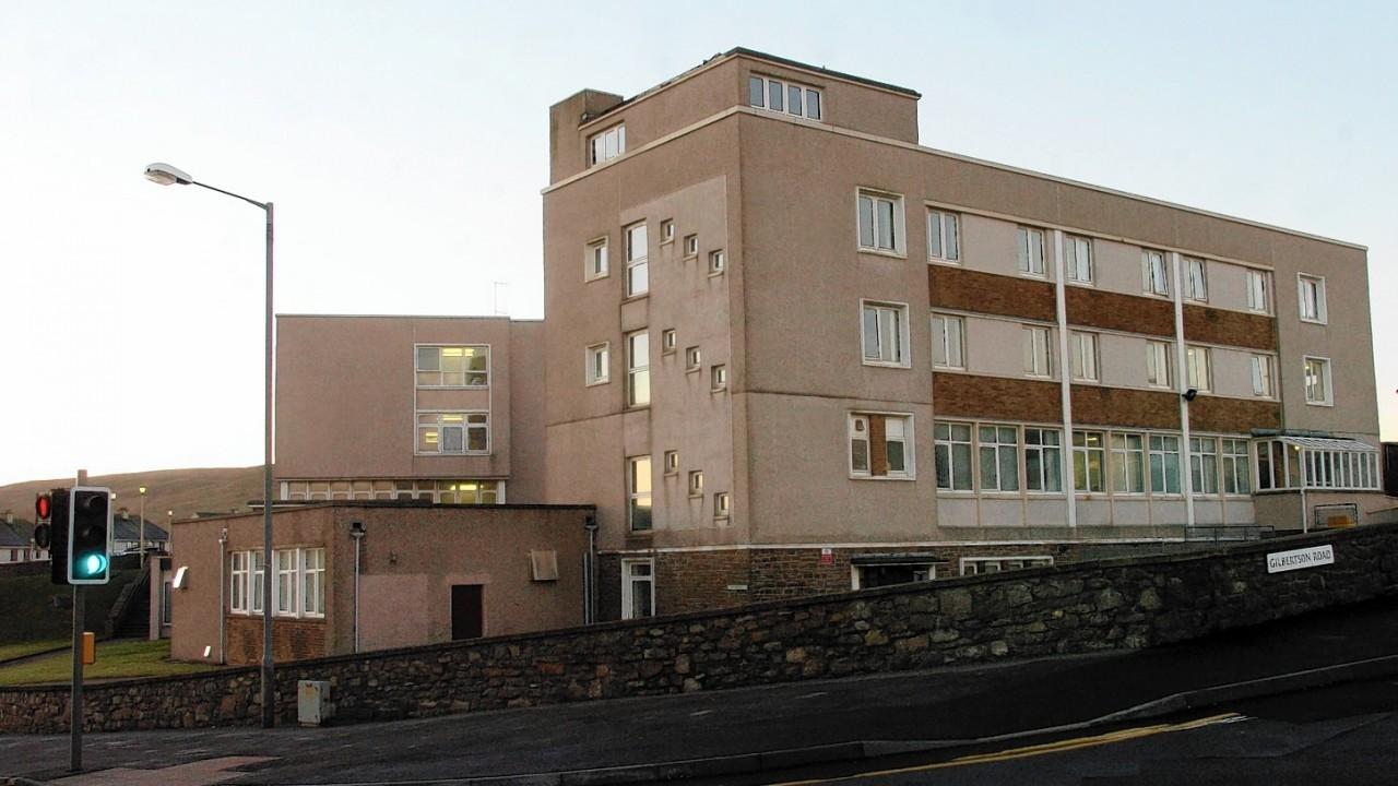Gilbert Bain Hospital in Lerwick.