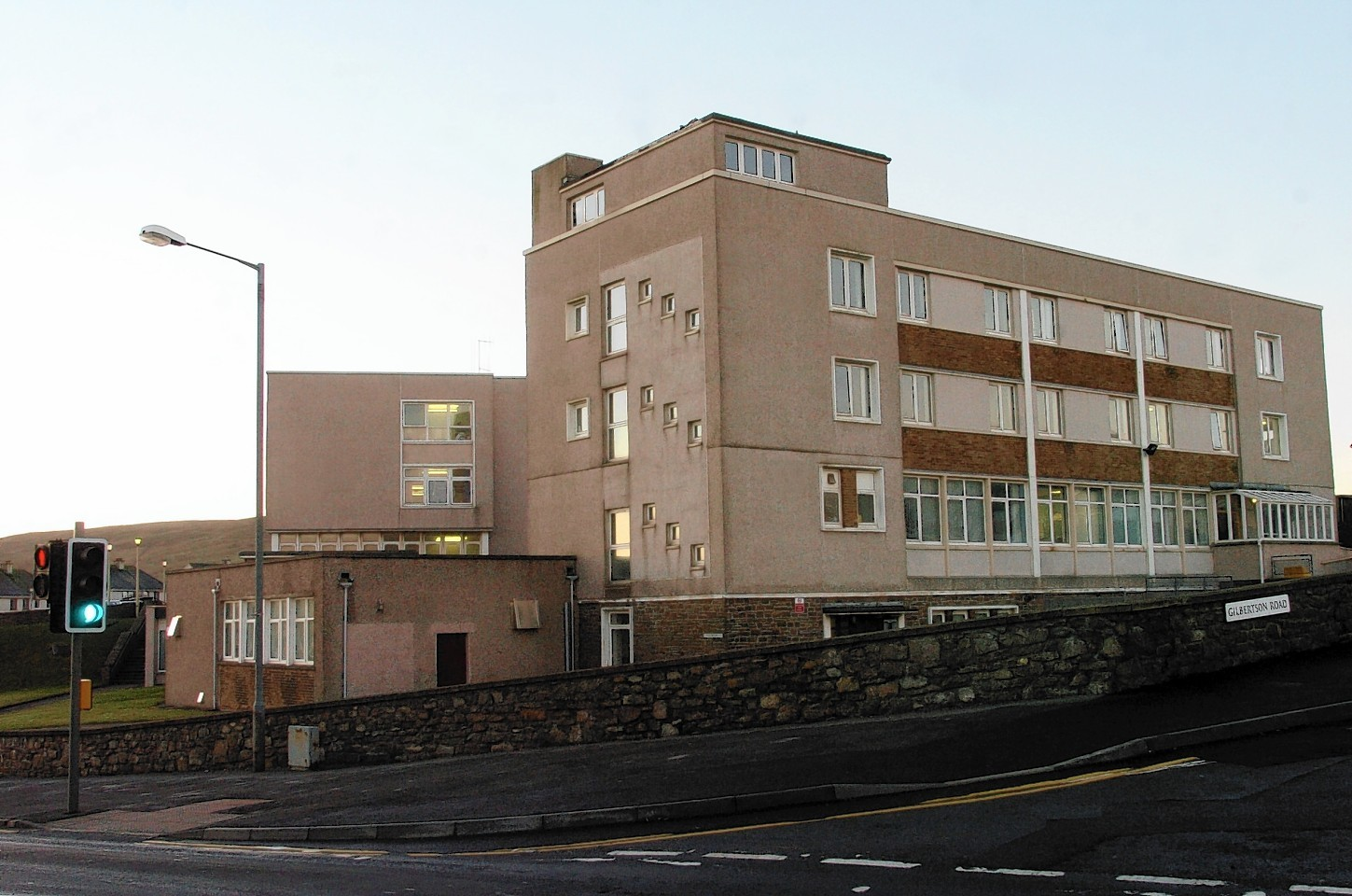 Gilbert Bain Hospital in Lerwick.