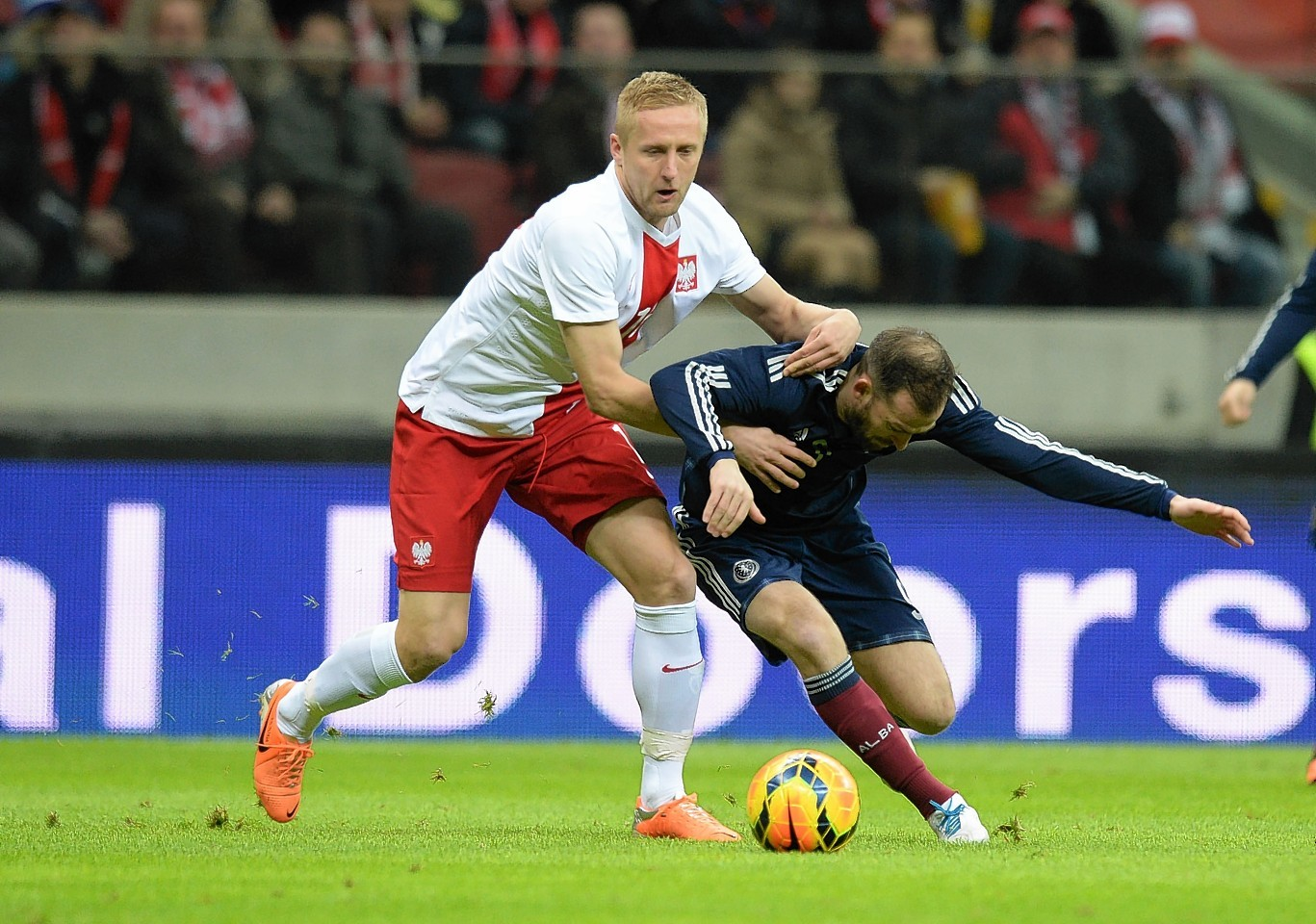 Kamil Glik and Steven Fletcher are likely to reignite their battle