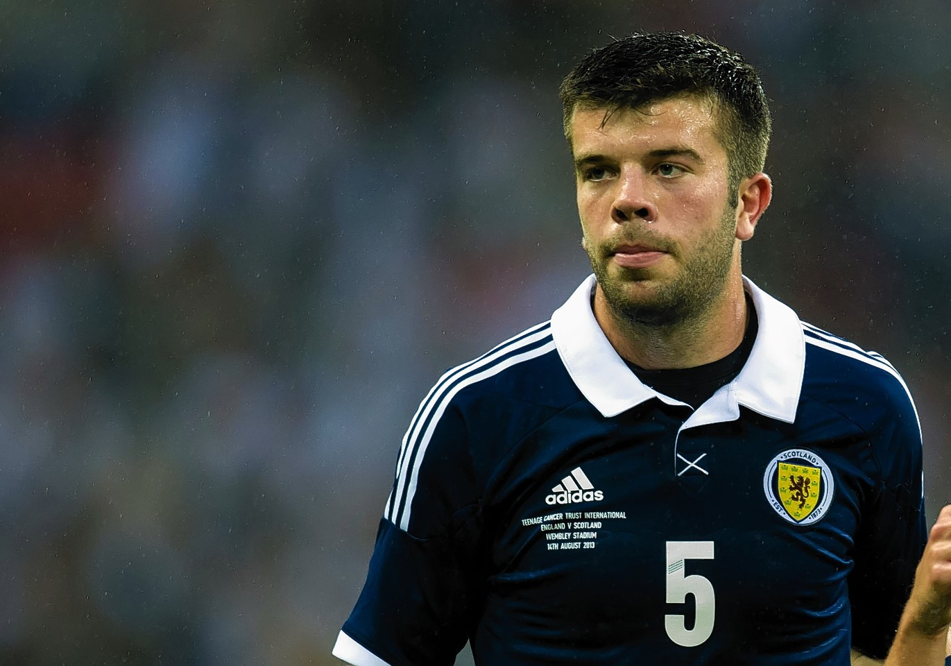 Blackburn captain Grant Haley is relishing playing for Scotland