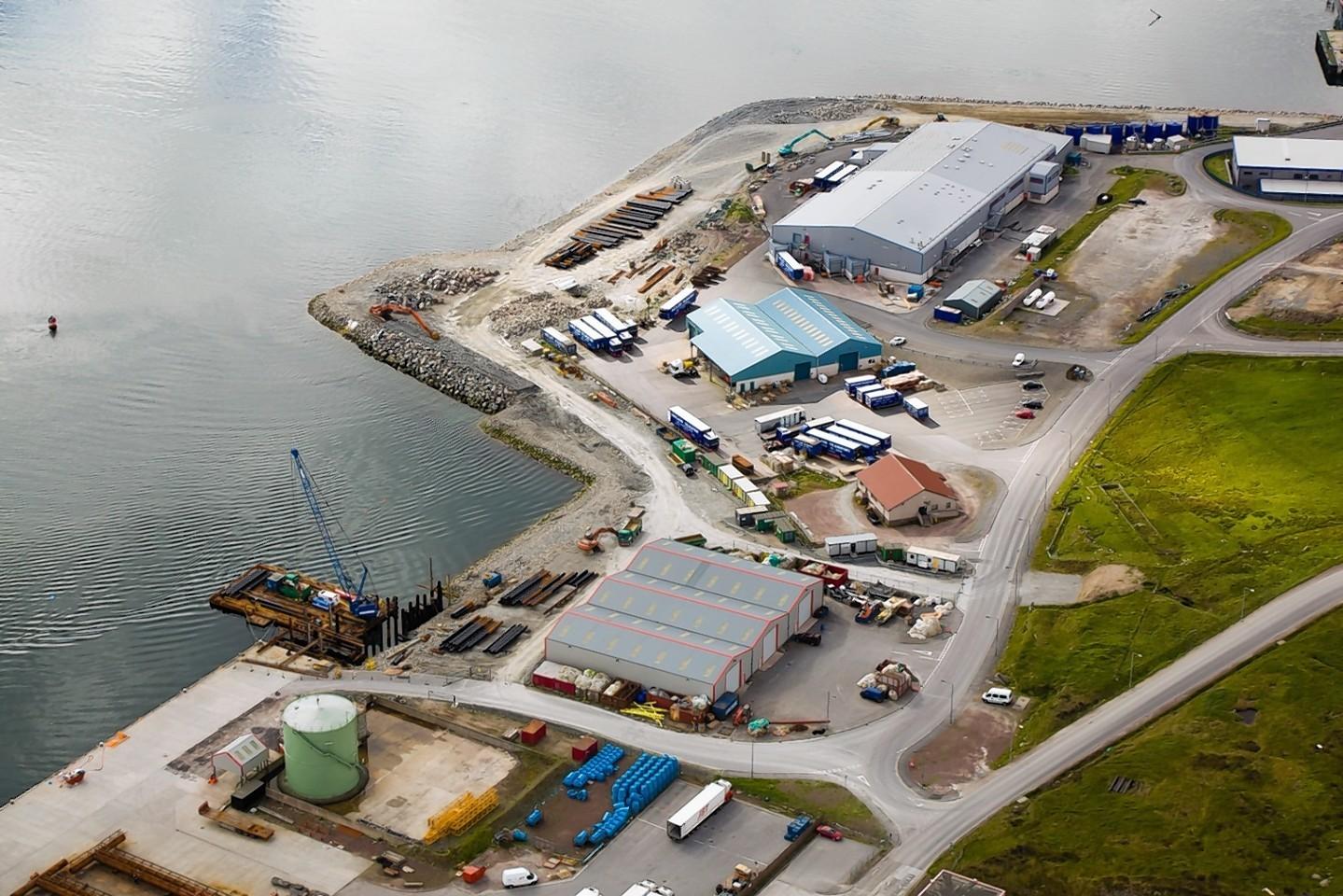 Greenhead Base in Lerwick