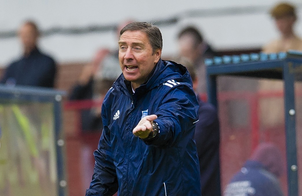 Jim McInally is hoping for a Scottish Cup run for Peterhead this season.