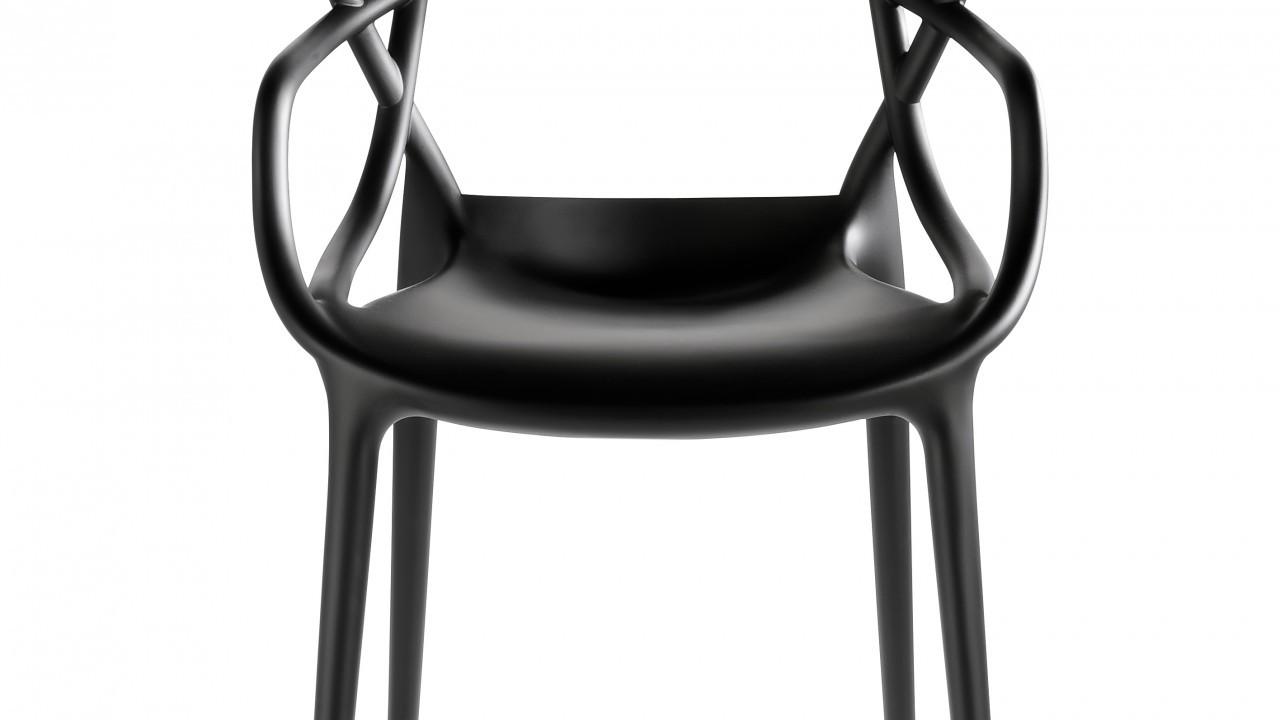 Kartell Masters Chair Black, £142, www.amara.com