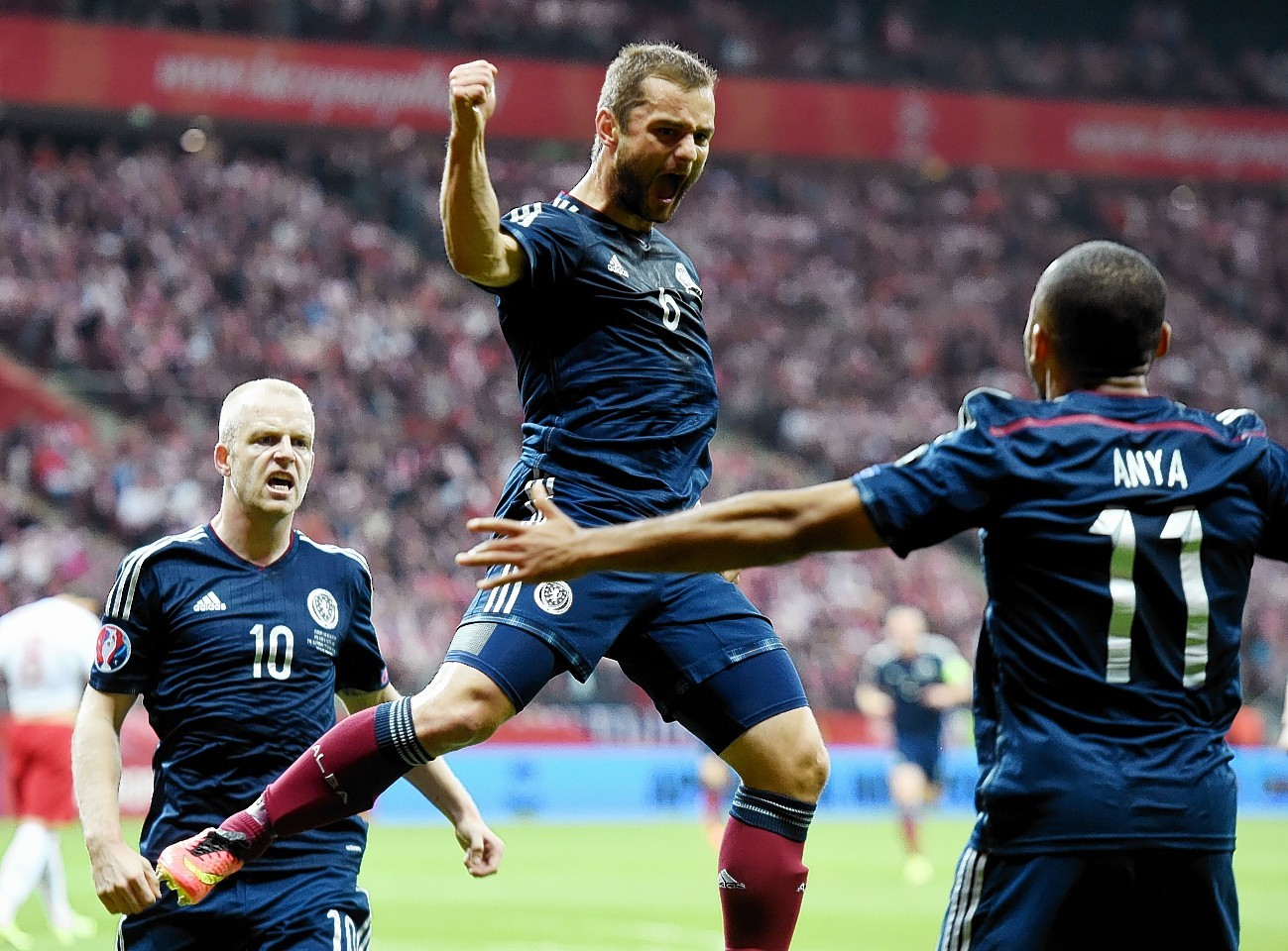 Shaun Maloney has been one of Scotland's most important players in the Euro 2016 campaign - scoring four goals already