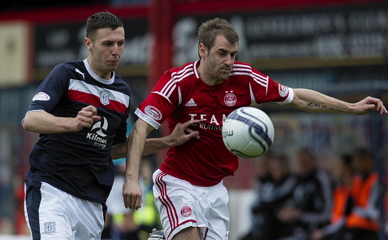 McGinn has an impressive record against the men from Dens Park