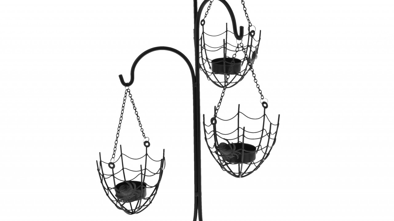 Metal Spider Web Tealight Holder, £12, John Lewis
