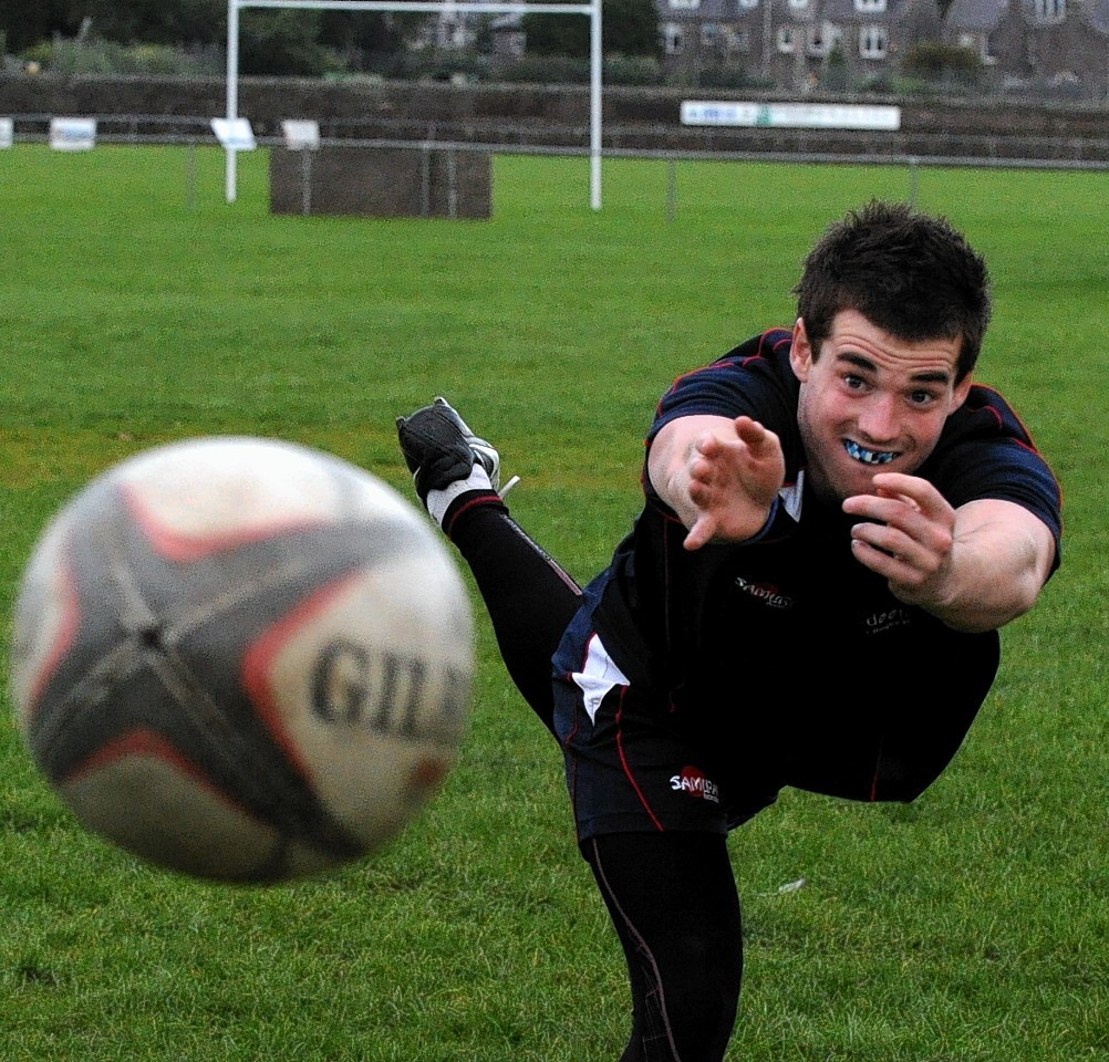 Aberdeen Grammar's Morgan Ward will captain the team this weekend
