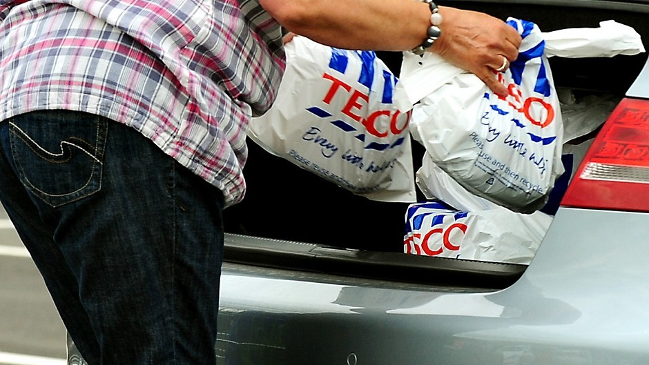Tesco saw sales drop by 3.6% in the 12 weeks to October 12