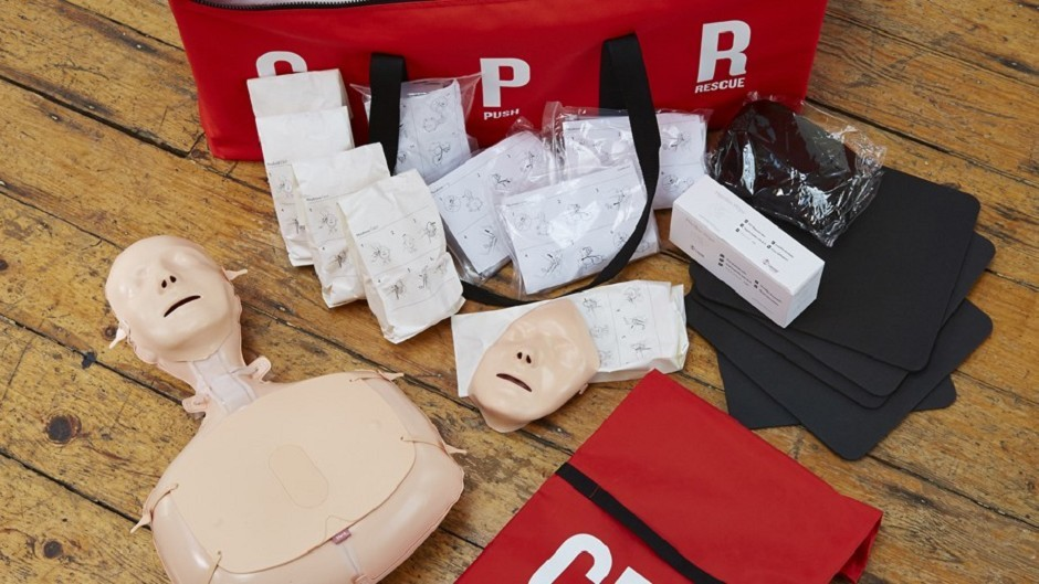 The British Heart Foundation's CPR training kit (BHF/PA Wire)