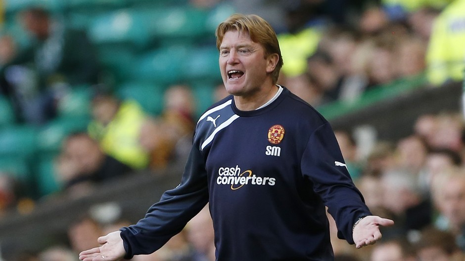 Stuart McCall's Motherwell sit second bottom in the Scottish Premiership table
