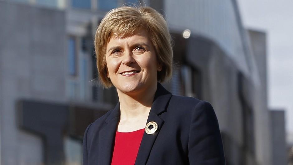 Nicola Sturgeon wants Scotland to have control over the minimum wage.