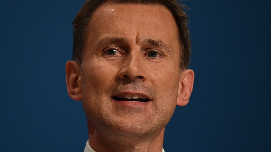 Jeremy Hunt's campaign boosted by MSPs