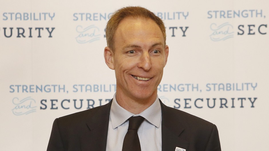 Scottish Labour leader contender Jim Murphy