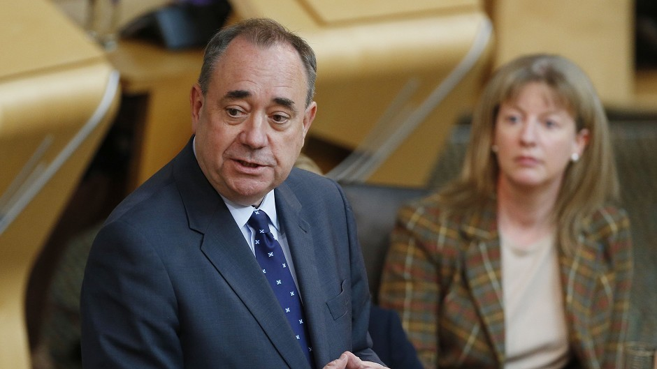 Alex Salmond's plan to stop council's chasing ancient poll tax defaulters could be challenged in the courts.