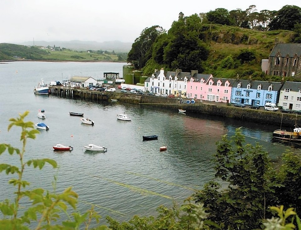 Pupils at Portree High School are looking forward to moving into their new residence