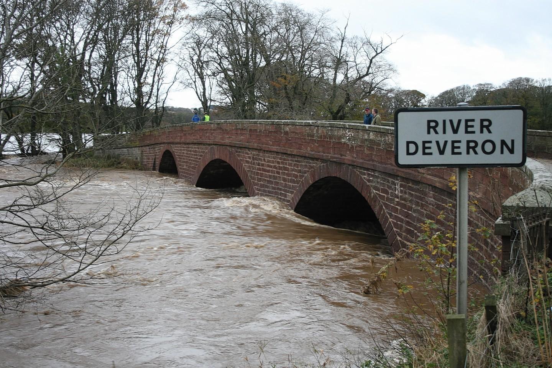 The bridge over the River Deveron