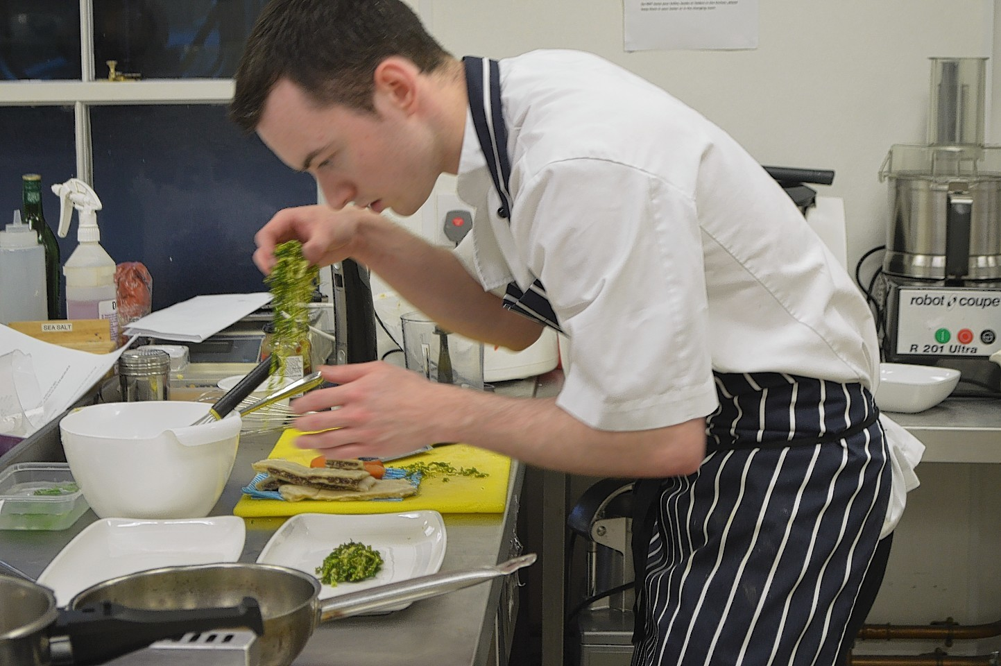 Robert Smith has been named the top young chef in the Highlands