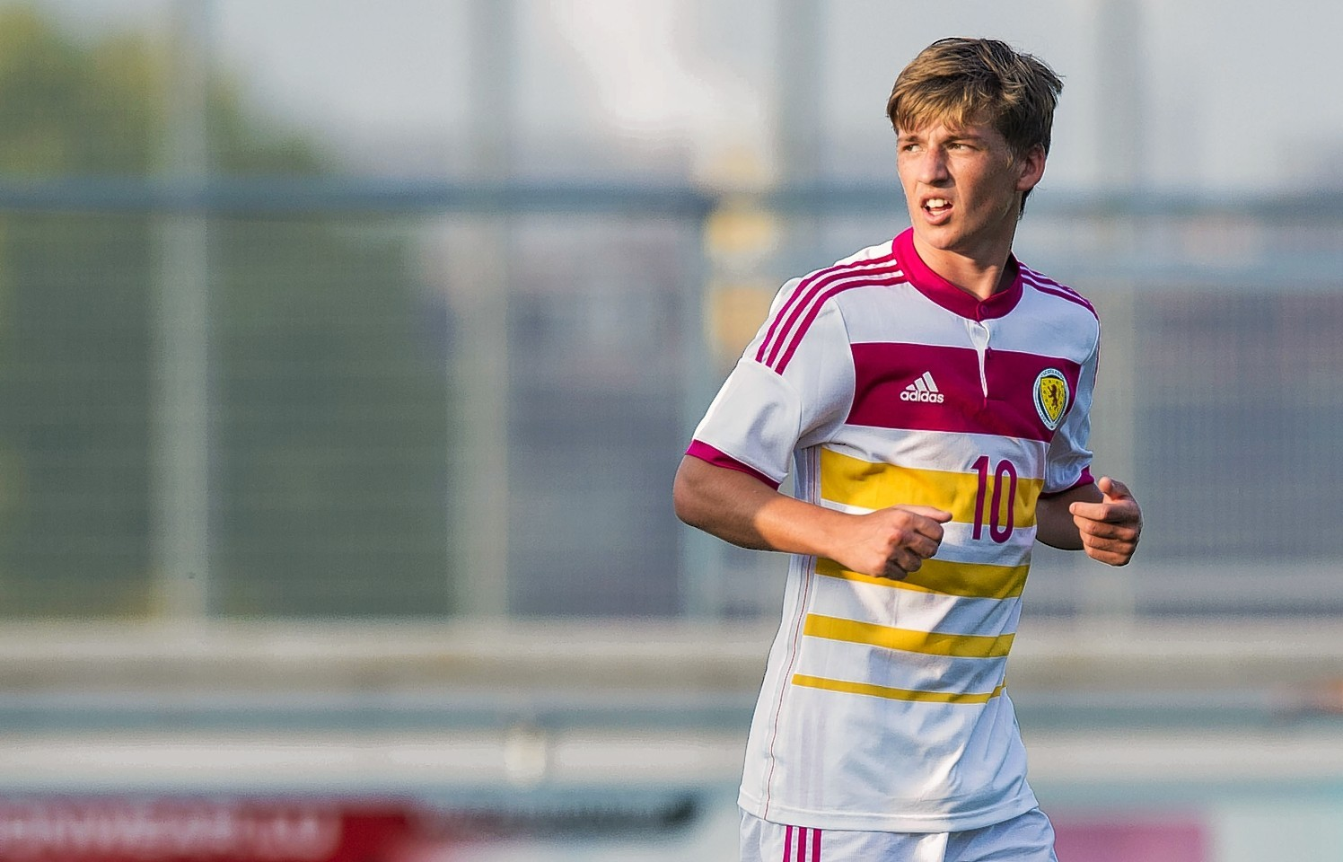 Ryad Gauld is set to step up to the Scotland first team squad