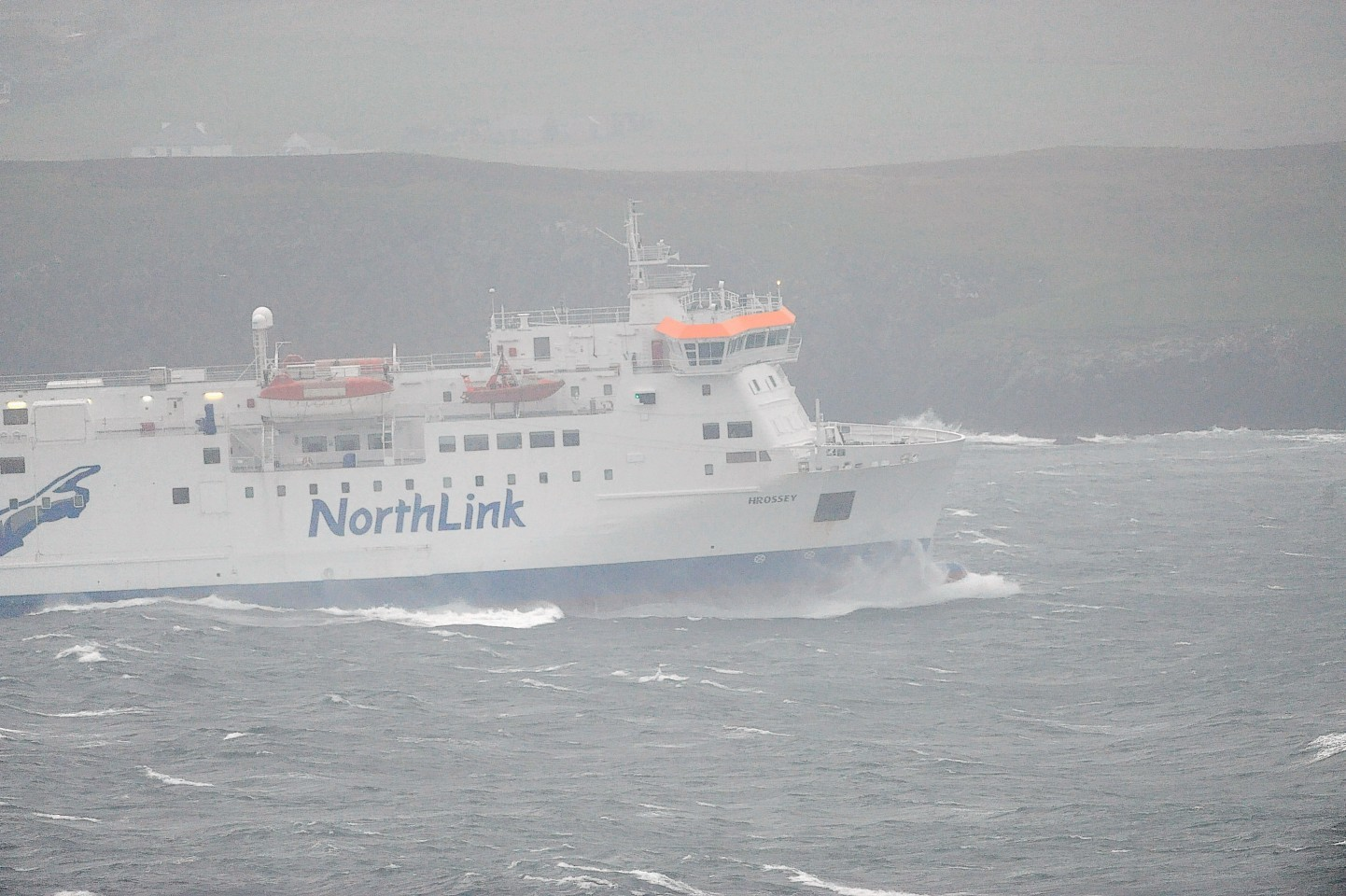 Northlink Ferries were cancelled as a result of high winds