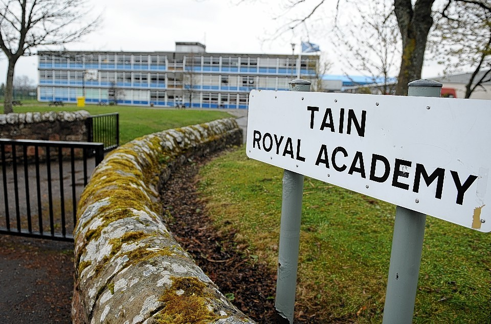 The plans are for a new campus on the existing Tain Royal Academy site