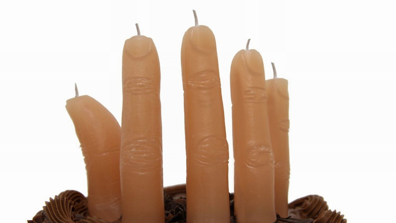 ThumbsUp! Finger Candles, £10 - Amazon
