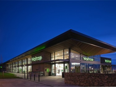 How a Waitrose supermarket might look in the Mill of Forest plans for the development near Stonehaven.