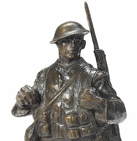 William McMillan's bronze infantryman sold for almost £30,000
