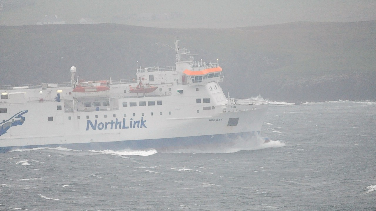 Stormy weather is expected to affect the ferry services