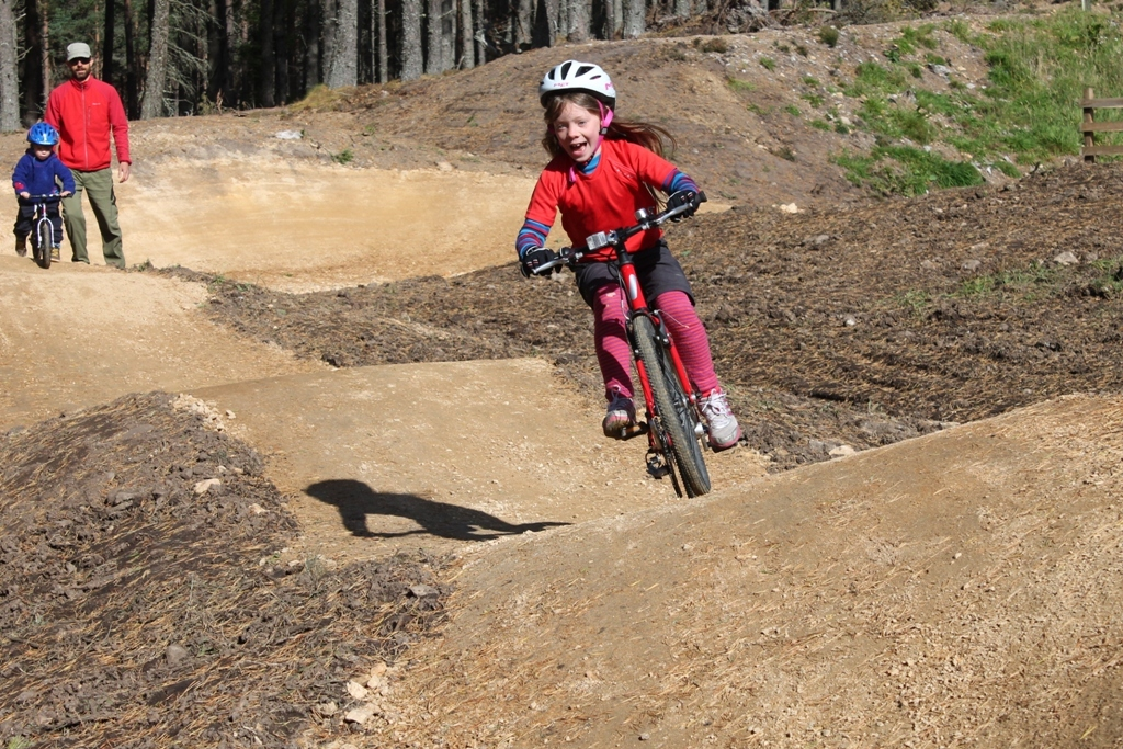 "The new 75-metre ""pump track"" will test  riders of all ages"