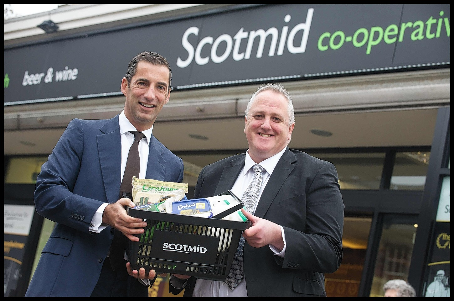 Graham and Scotmid have joined forces