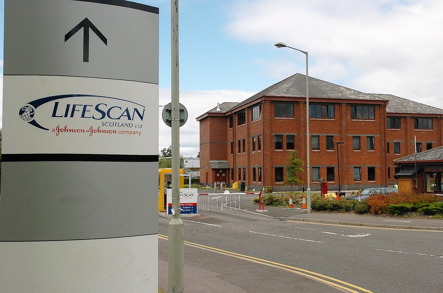 LifeScan Scotland's HQ in Inverness