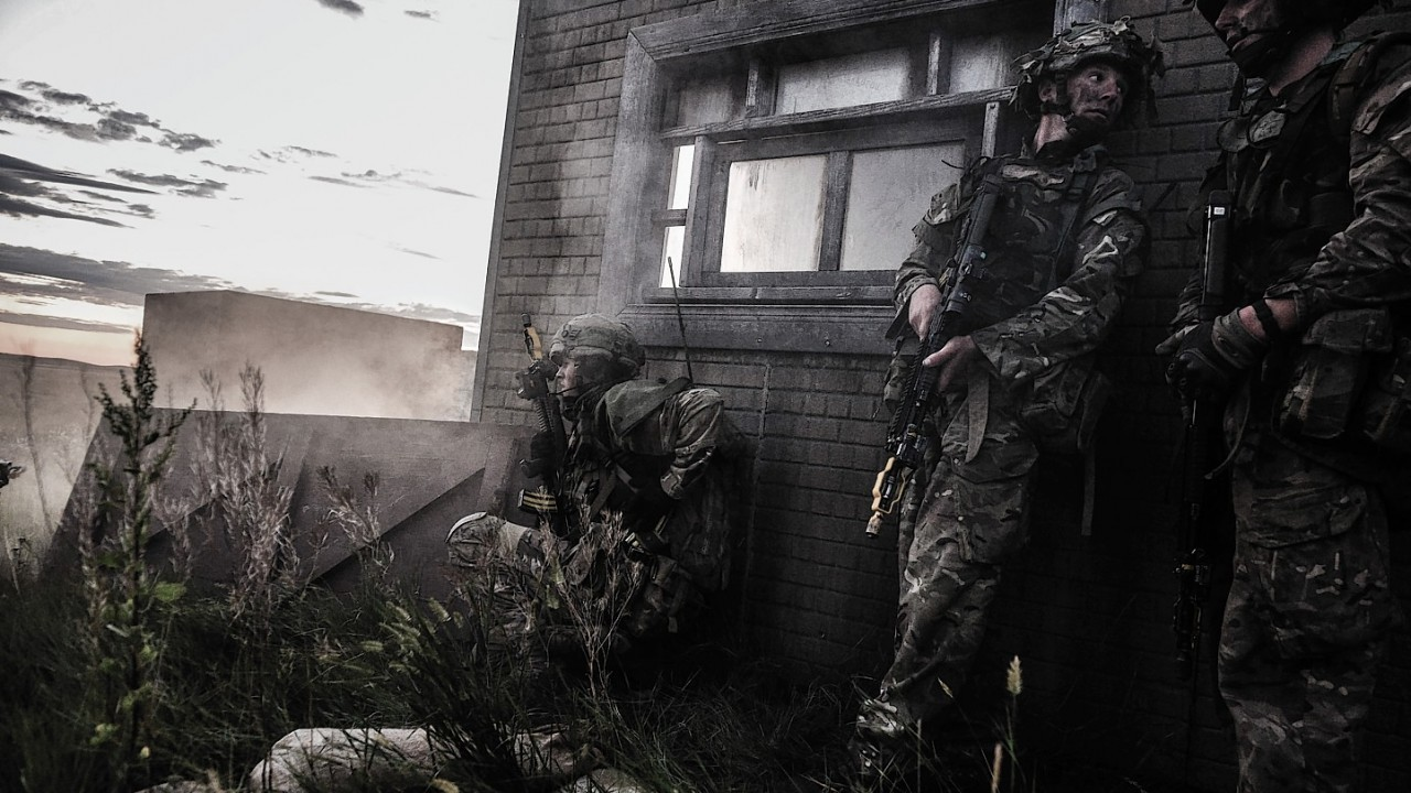 'Dawn' Raid' by Sergeant Mark Webster