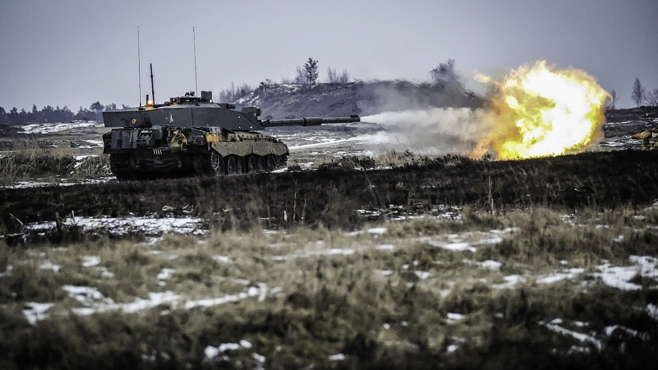'Challenger 2 Heat' by Corporal Dean Docwra