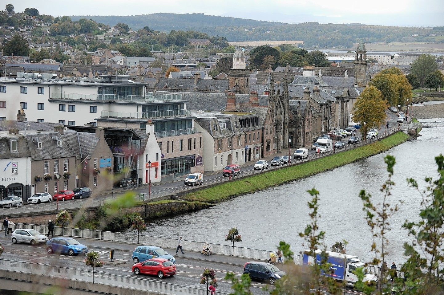 Roadworks could cause delays on Ness Bridge