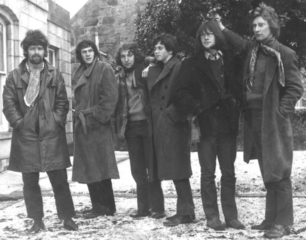 Another Camel, featuring Hugh Falconer (third from left), in 1970.