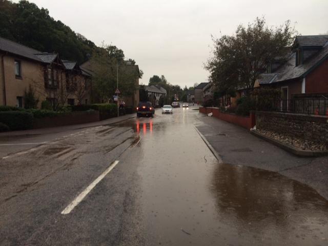 Millburn Road in Inverness