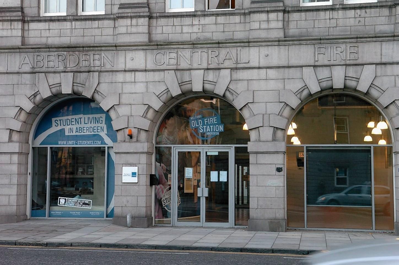 Unite student halls in Aberdeen