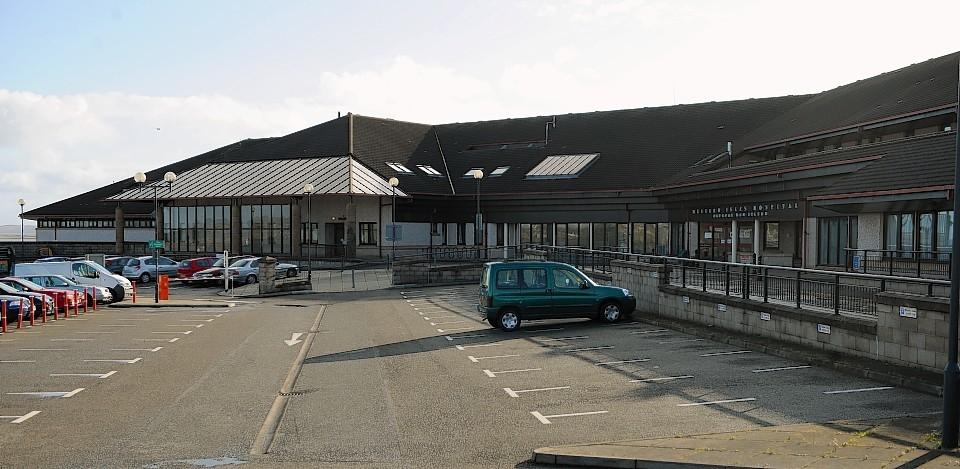 The fisherman was taken to Western Isles Hospital