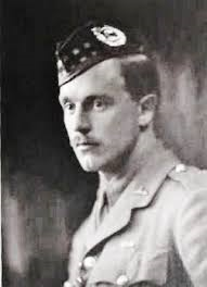 Captain Burke is one of nine soldiers in the north-east to receive the commemorative stone